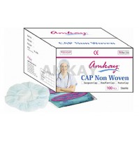 Amkay Surgeon / Bouffant Cap, Bulk Pack, ( Pack of 5000 pcs. )