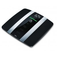 Beurer Weight Scale, Comfortable foot activation, 180 kg capacity, Overload indication, Tap-on technology