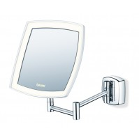 Beurer Illuminated cosmetics mirror, Easily fixed to the wall, Bright LED light with 36 LED and 400 Lux