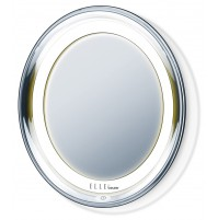 Beurer Illuminated cosmetics mirror, Bright LED light, Automatic switch-off function