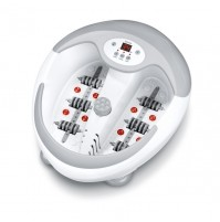 Beurer Foot Massager with integrated magnets, footbath, LED Display, 5 Level water heater