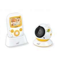 Beurer Video Baby Monitor, Sound and motion sensor, 2-way communication possible