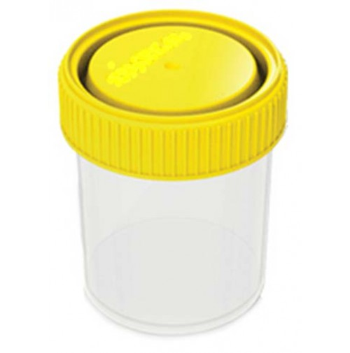 MB Plastics Specimen Container -  60ml Single ETO ( pack of 100 pcs. )
