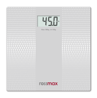 Rossmax GLASS PERSONAL SCALE - SUPER SLIM / ELECTRONIC