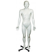 Sakamoto's White Colored Educational Manikin