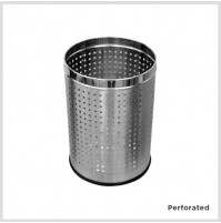 So clean's Open Bins, Perforated, Stainless steel, 6L, Other options available