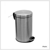 So clean's Pedal Bins, Plain, Stainless steel, 5 L, Other options available