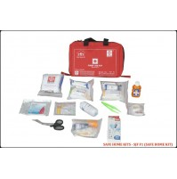 ST JOHN'S FIRST AID, FAMILY FIRST AID  KIT, NYLON, 6 POCKET BAG, 79 COMPONENTS SJF F1