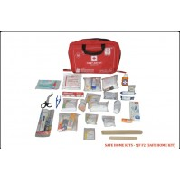 ST JOHN'S FIRST AID, FAMILY FIRST AID  KIT, NYLON, 8 POCKET BAG, 138 COMPONENTS SJF F2