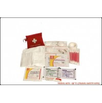 ST JOHN'S FIRST AID, TRAVEL FIRST AID  KIT, SMALLPOUCH, 23 COMPONENTS SJF T1
