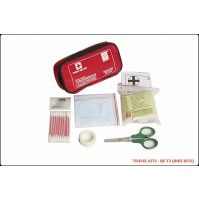 ST JOHN'S FIRST AID, TRAVEL FIRST AID  KIT, SMALLPOUCH, 29 COMPONENTS SJF T2