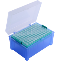 Abdos Pipette Tips, Racked PP, Autoclavable, ( 10 Racks x 96 pcs (960 pcs) )