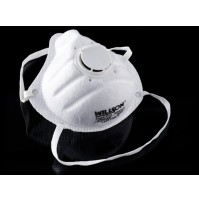 Abdos N95 Mask,Regular, White ( Pack of 20 pcs. )