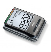 Beurer Wrist Blood Pressure Monitor with Touch Screen Display, 2 x 60 memory spaces, Signaling of operating errors