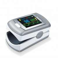 Beurer Pulse Oximeter with Alarm and Recording Function, OLED color display