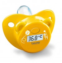 Beurer Pacifier Thermometer for kids, bear shape, 1 memory space, Automatic switch-off