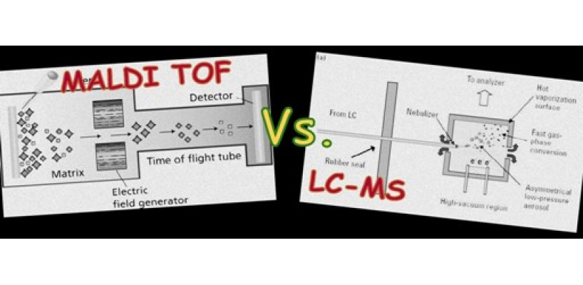 The dilemma of: LC-MS or MALDI-TOF?