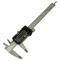 Bochem Digital Vernier Caliper, Stainless Steel , 150 mm ( 6 inch ) Vernier Caliper, LCD Display