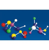 Laboplast Atomic Model Set (Senior Set), PS, 120 balls