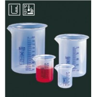 Deltalab Graduated beakers, Autoclavable, 3000 mL, PP