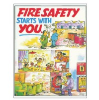 NSB Poster : Fire Safety Starts with you.