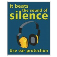 NSB Poster : Use Ear Protection.