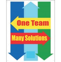 NSB Poster : One Team, Many Solutions.