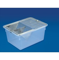 Polylab Animal Cage, 290 x 220 x 140 mm ( Pack of 1 pc. )