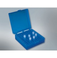 Polylab Cryo Box (PP), 81 places for 1 ml or 1.8 ml cryo vails ( Pack of 4 pcs. )