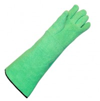 Br Biochem HIGH TEMPERATURE GLOVES, Heat Resistant, Flexible, 450°F, Terry (Pack of 100 pairs)